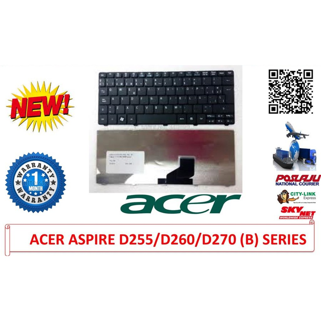 Keyboard Acer Aspire One 532h D255 D257 D260 D270 522 Series Laptop For 4732 4732z Emachines D725 D525 Shopee Malaysia