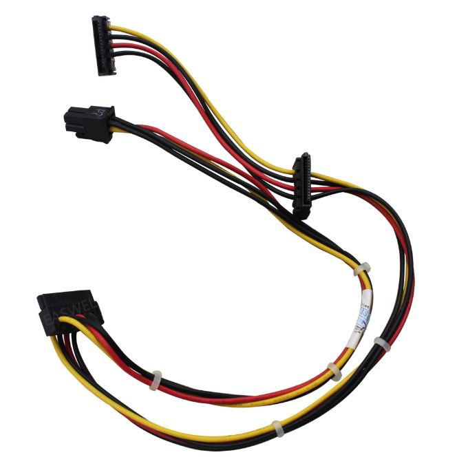611895-001 611895-001 6200 Pro Elite 4-pin to 3X SATA motherboard power cable