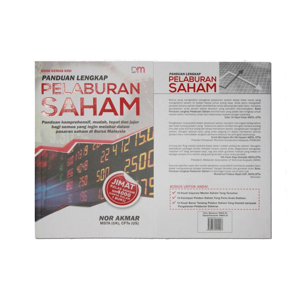 Panduan Lengkap Pelaburan Saham Sesuai Untuk Newbie Belajar Asas Saham Bursa Saham Bskl Buku Saham Shopee Malaysia