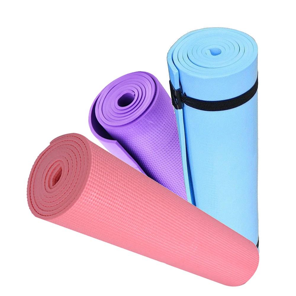 Eco Friendly EVA Non Slip 6mm Yoga Mat