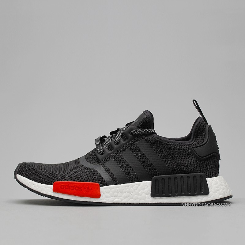 657681e610cb4 wldm sports Adidas NMD x Footlocker black and red joint European limited  runnin Casual