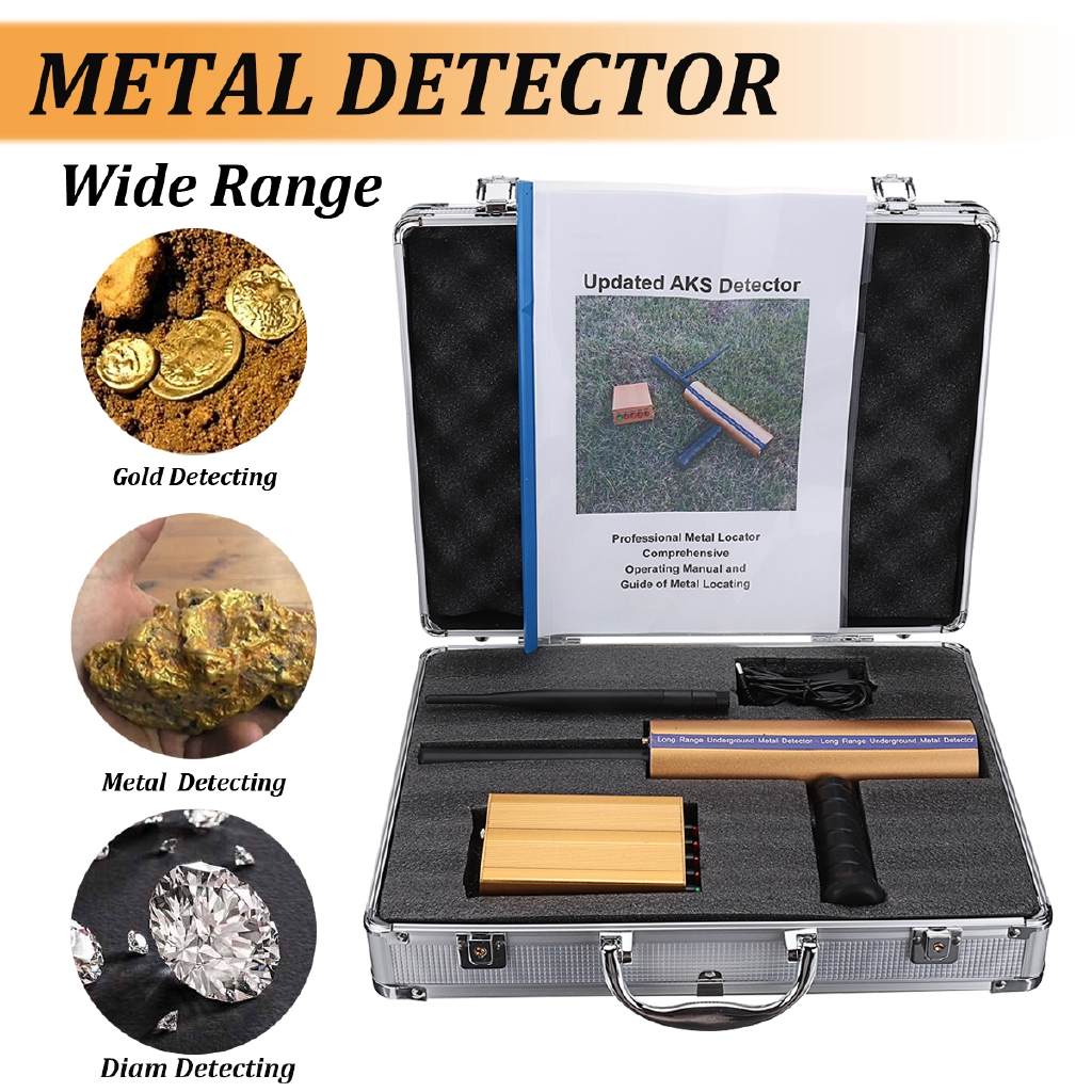 Metal Detector Underground Scanner Finder Gold Digger Beach Search Long Range Deep Buy Machine Lcd Shopee Malaysia