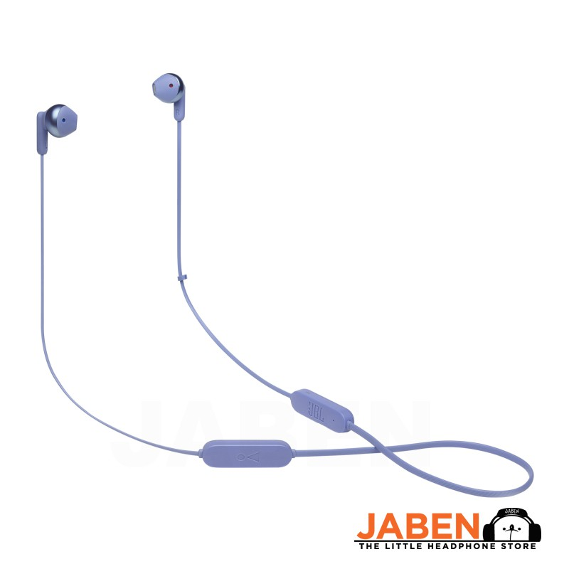 JBL TUNE 215BT Neckband Bluetooth Hands-free Tangle-Free Flat Cable 16 Hours Battery Wireless Earbuds [Jaben]