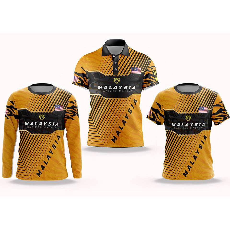Rafa New Design Harimau Malaya Jersey Limited Edition Shopee