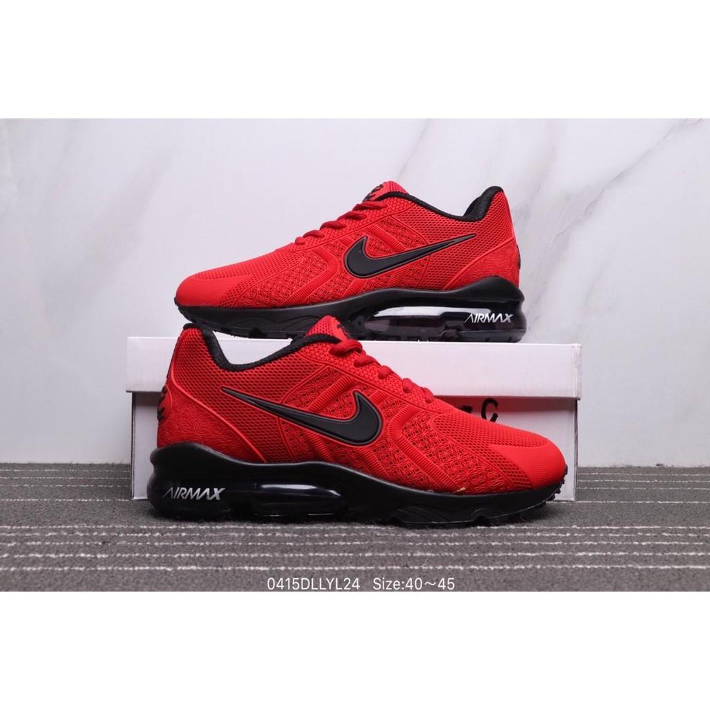 best service ff9a0 fd0f7 Nike AIR VAPORMAX 93°C FLYKNIT Red Nano Drop Plastic Retro Air Cushion Shoes