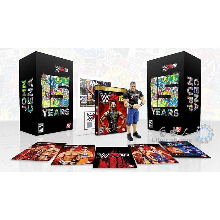 XBOXONE XBOX ONE WWE2K18 WWE 2K18 Normal\Luxury Edition\Ultimate Edition  English