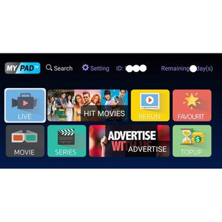 MYPADTV 4K Authorised Dealer (FAST ACTIVATION) | Shopee Malaysia