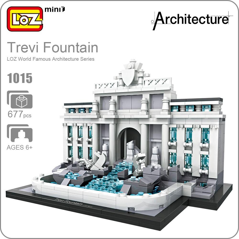 Loz Building Blocks Architecture The White House Model Educationa 9387 Nano Statue Of Liberty For Children Shopee Malaysia
