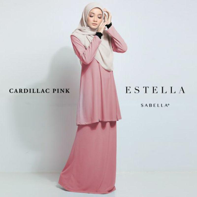 Sabella Estella Kurung Size XL ,2XL & 3XL [Ready Stock]