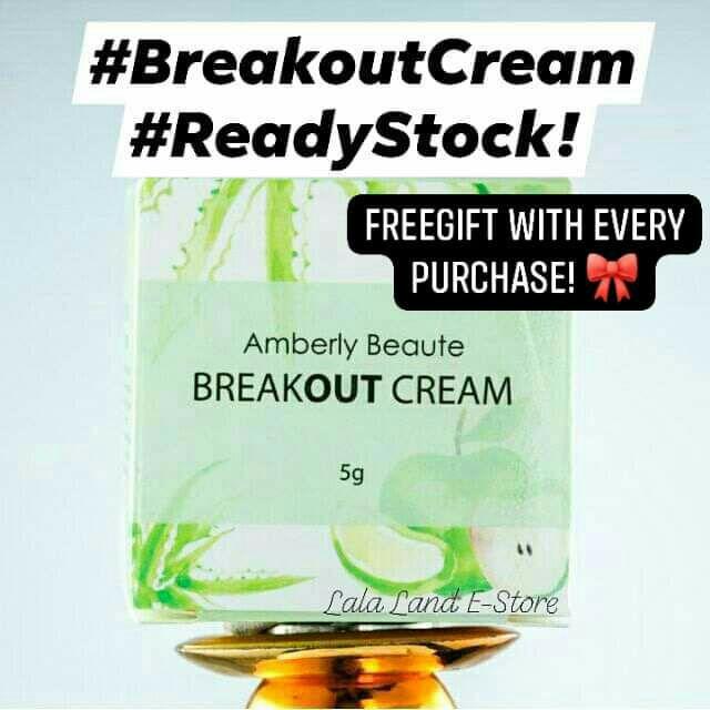 BREAKOUT CREAM 💕 READY STOCK!! By Amberly Beaute