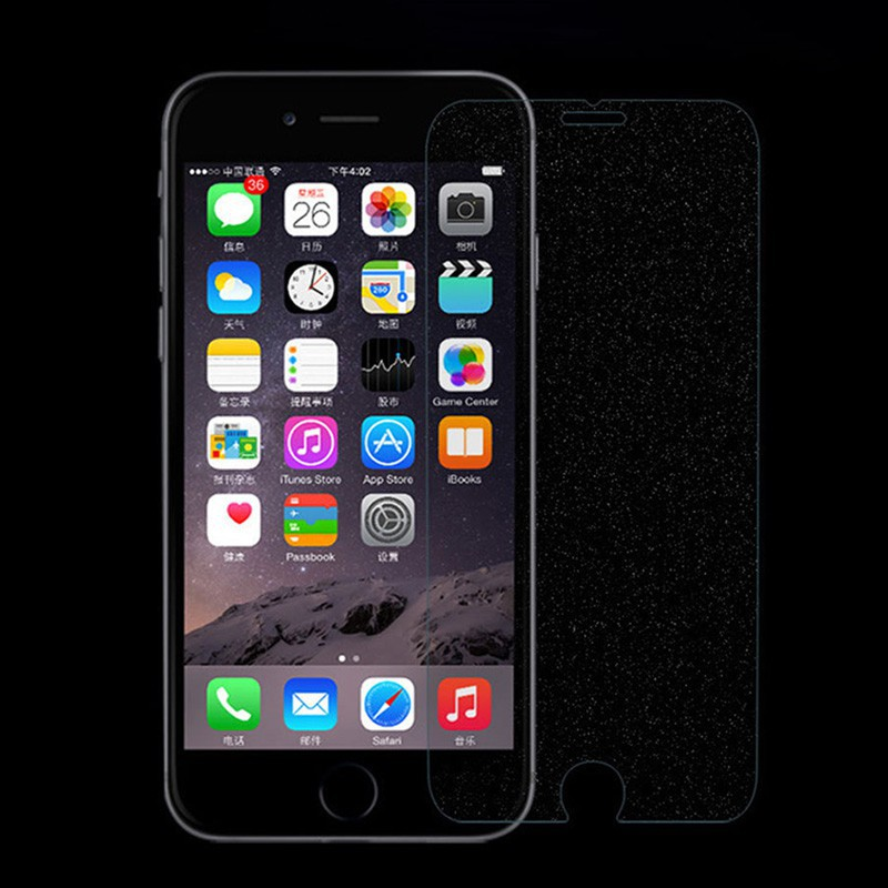 buy online 896ff fbd3d PromosiFor iPhone 6s 7 8 X diamond Glitter Tempered Glass Screen Protector  MNKG
