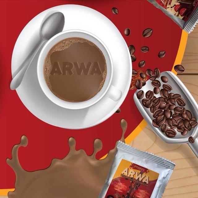 Coklat Mocha Arwa Campuran 8 Makanan Sunnah 10 Sachet X 25g