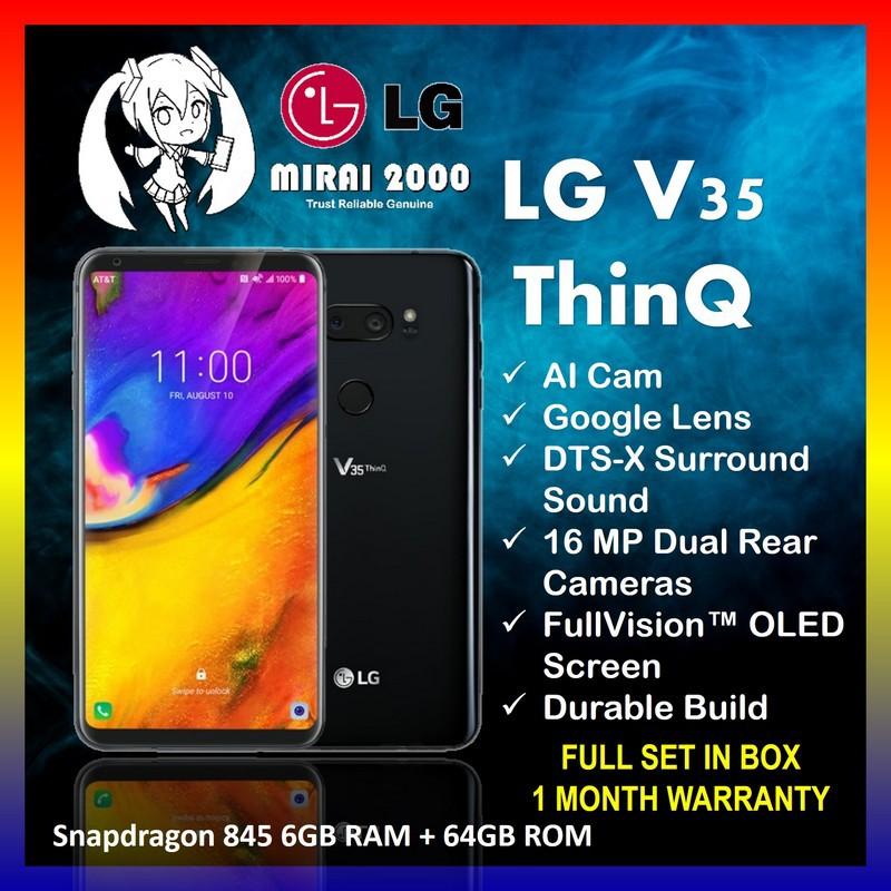 Used LG V35 (6GB RAM + 64GB ROM) SD 845 FullVision™ Gaming Phone