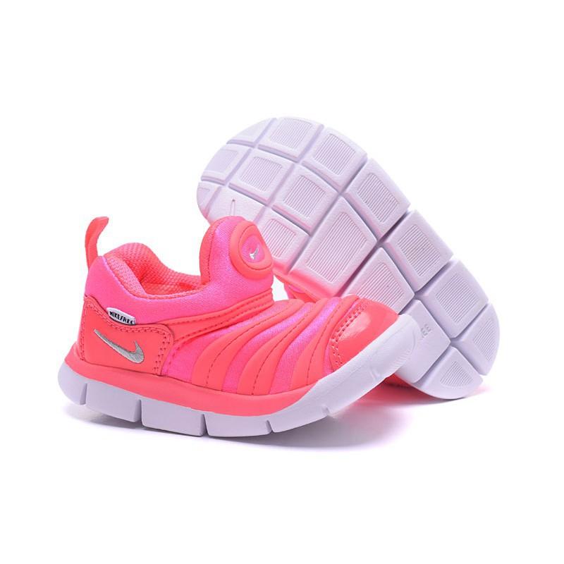 314ecaab6f64d Nike Dynamo Free Toddler Big kids Shoes Sneaker Red Gold