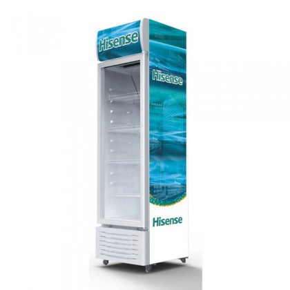 Hisense HSC-242FLH 242L Show Case Display Chiller with R600a Refrigerant