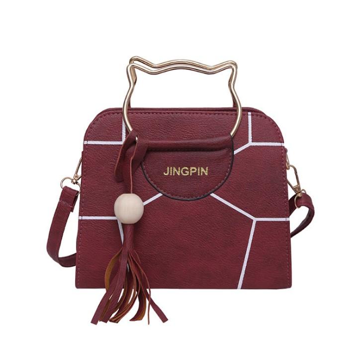 Ready Stock Big Women Sling Bag Fashion Ribbon Crossbody Cute Handbag Beg  dd802af764577