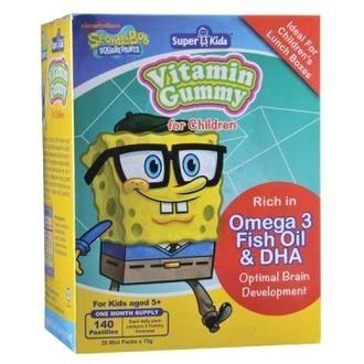 Super Kids Vitamin Gummy Omega 3 Dha Epa 140s