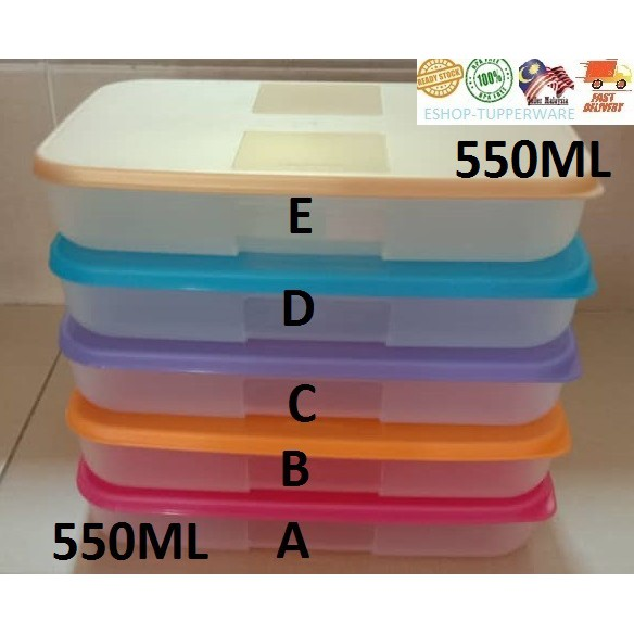 Tupperware Freezermate 550ML/1.3L (1 pc)