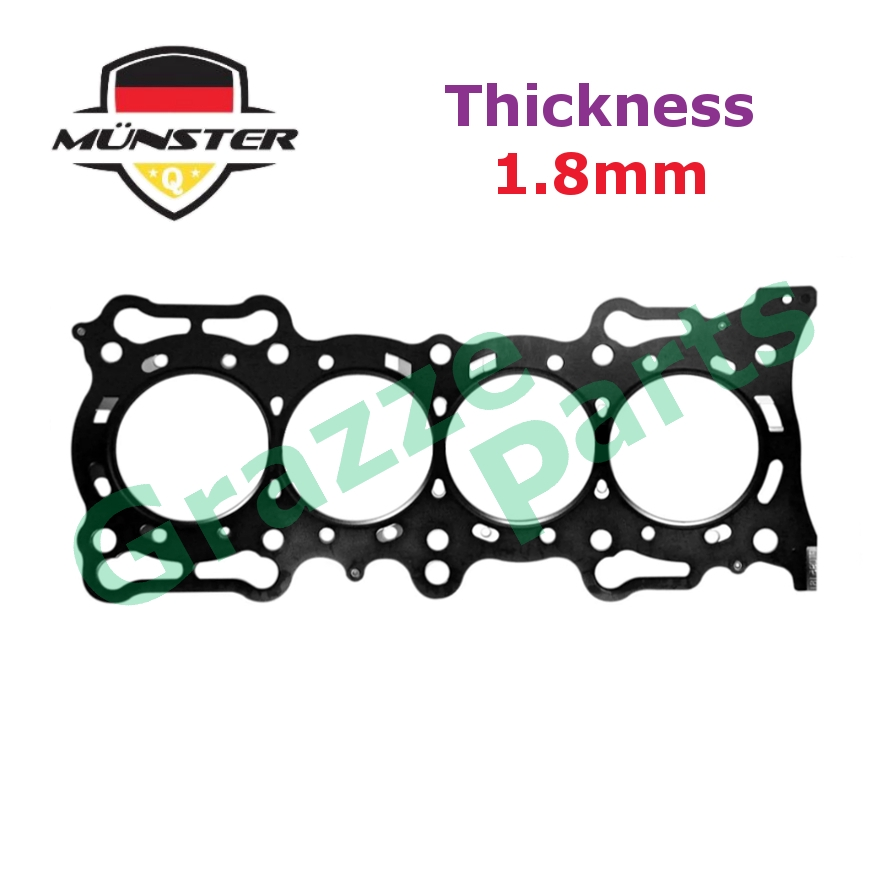 Münster Cylinder Head Gasket 12251-PTO-000 for Honda Accord SM4 F20A (Metal - 1.8mm)
