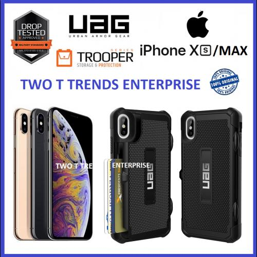 watch fae16 811cf Apple iPhone XS Max / XR UAG Trooper Case Bumper Card Holder ...