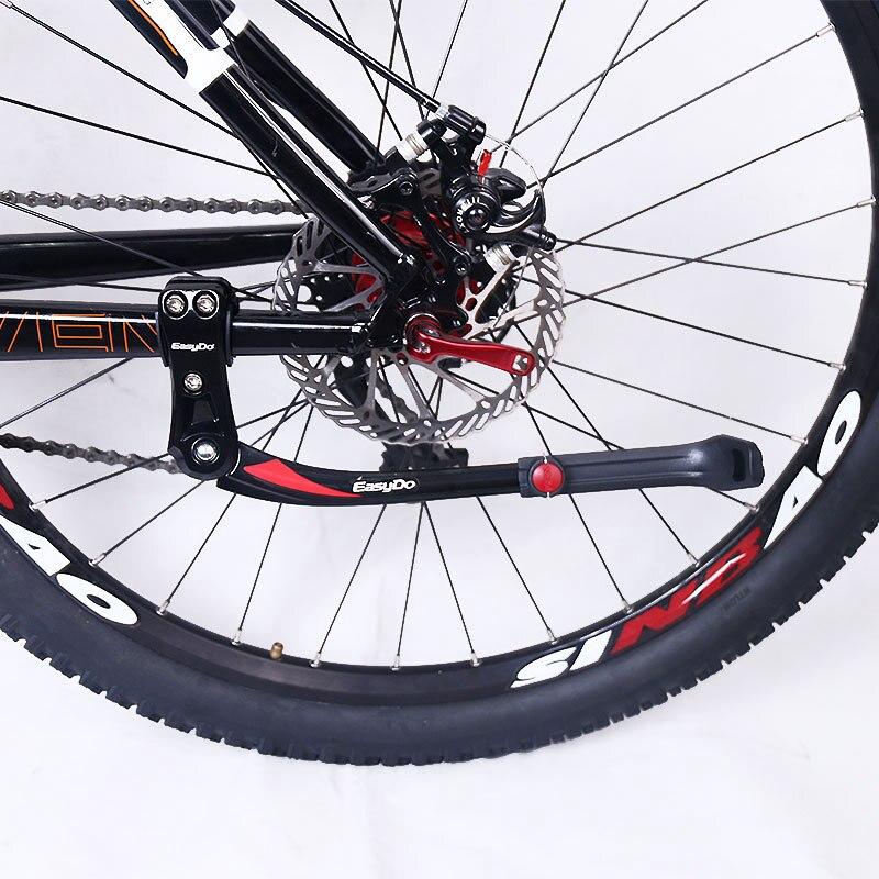 EasyDo Aluminum Single Leg Kickstand 24/'/'-29/'/' Mountain Bike Parking Rack Stand