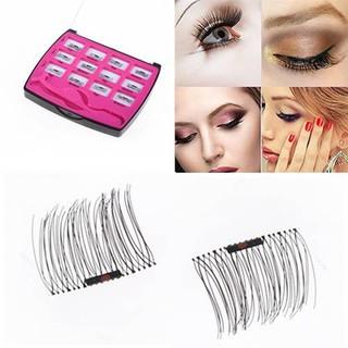 47da5594d3b 3 Second Magnetic Eyelashes Magnet Lashes Thicker Reusable False Eyelashes  No Glue | Shopee Malaysia
