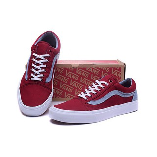 search for clearance luxuriant in design best loved Classic Vans Men's Mid-Top Skateboarding Shoes Old Skool Casual Shoes Red