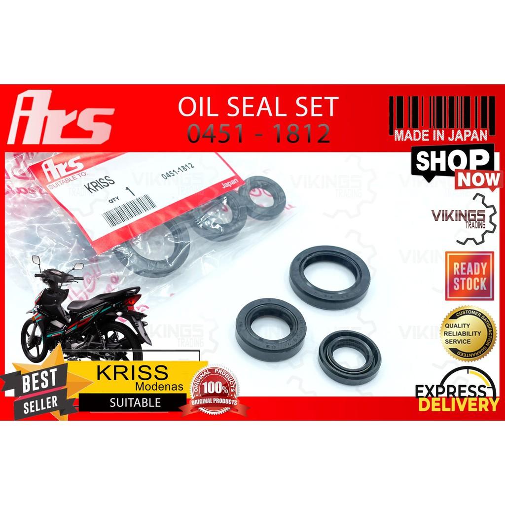 MODENAS KRISS 110 1 2 Oil Seal Set Gasket Oring Engine Set Oil Seal Engine Complete Set