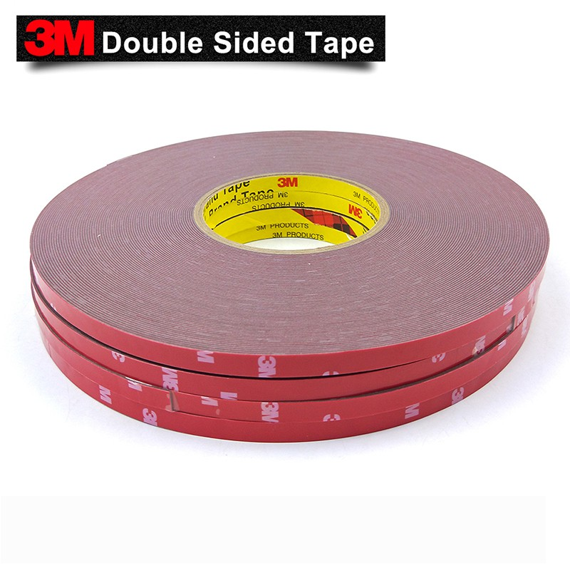 UK STOCK 3M™ 20mm//3m Auto Car Acrylic Foam Double Sided Attachment Adhesive Tape