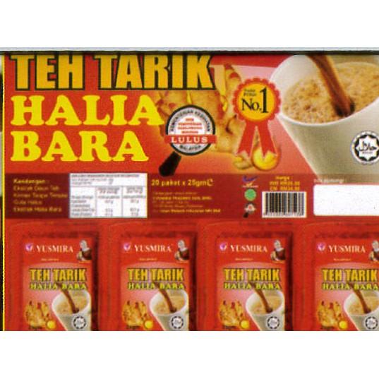 YUSMIRA TEH TARIK HALIA BARA (20 sachet)