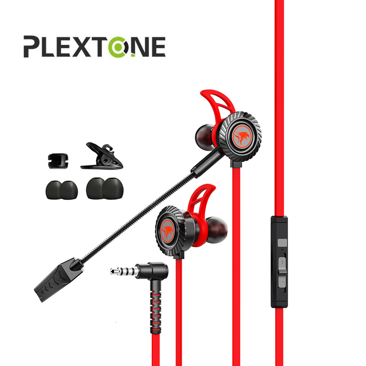 PLEXTONE XMOWI RX1 Gaming Earphones Noise Reduction Headset Headphone Deep Bass Stereo Surround Earbuds