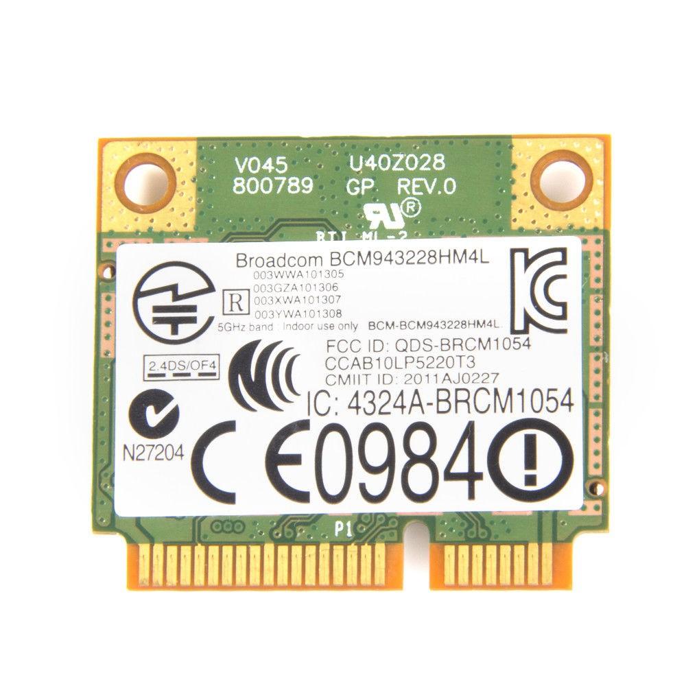 Dell DW1530 BCM943228HM4L 802 11A/B/G/N WLAN PCI-E PCI Express WiFi Card  300M