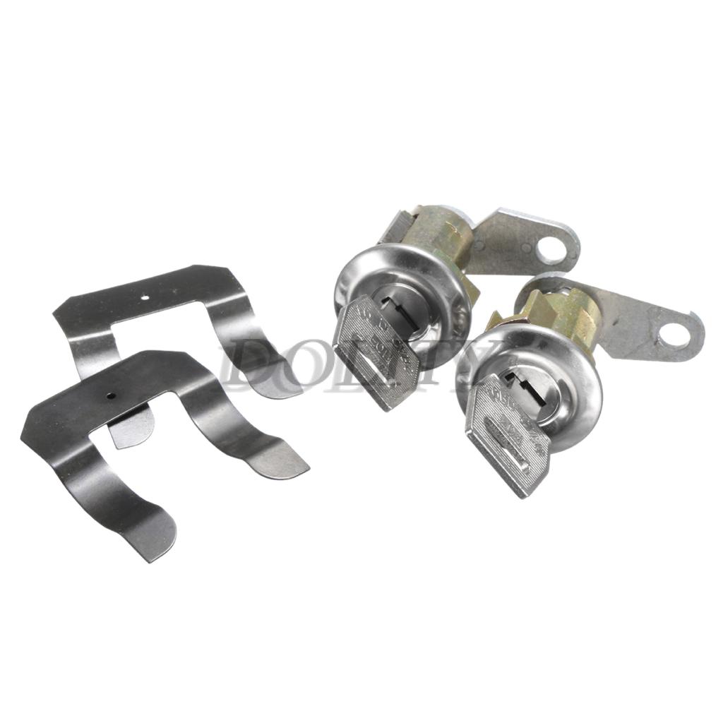 FOR FORD ECONOLINE VAN NEW LockCraft 4-Piece Door Lock Cylinder Set w//Keys