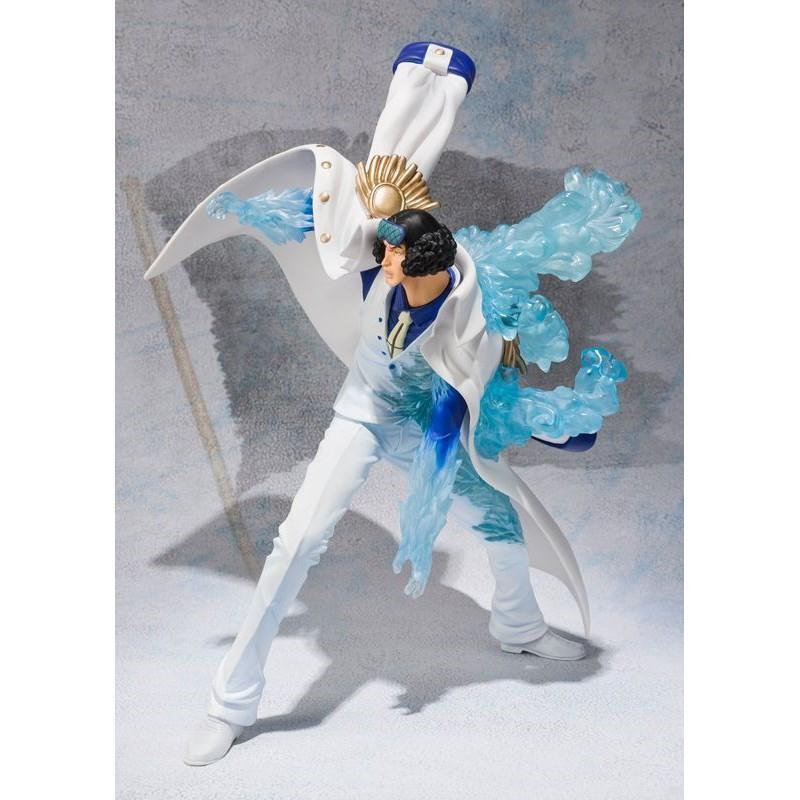 Anime One Piece Navy Senior General Aokiji Kuzan GK Statue PVC Figure New No Box
