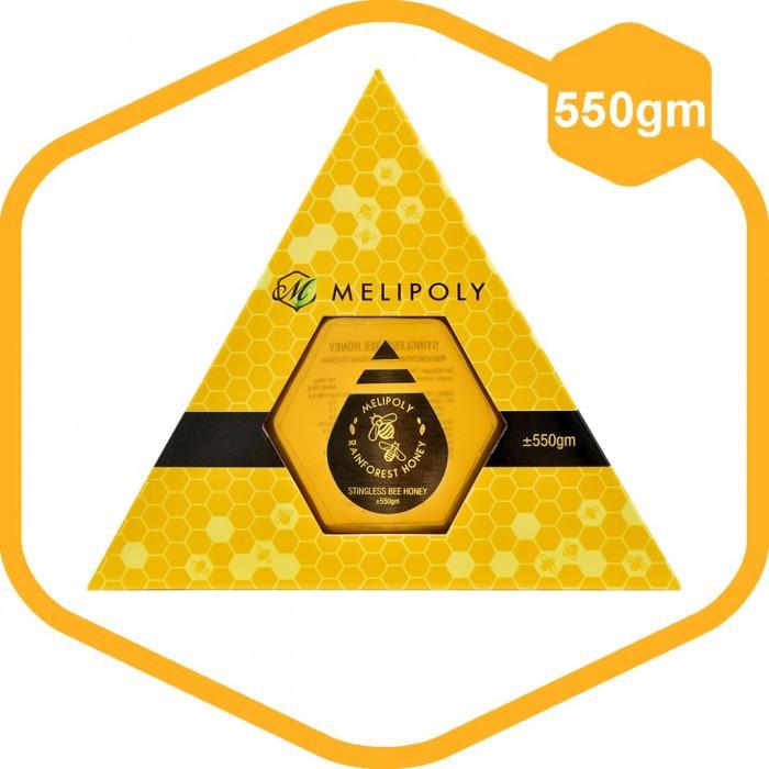 MELIPOLY 550gm Stingless Bee/Kelulut Honey/ 100% Pure Honey