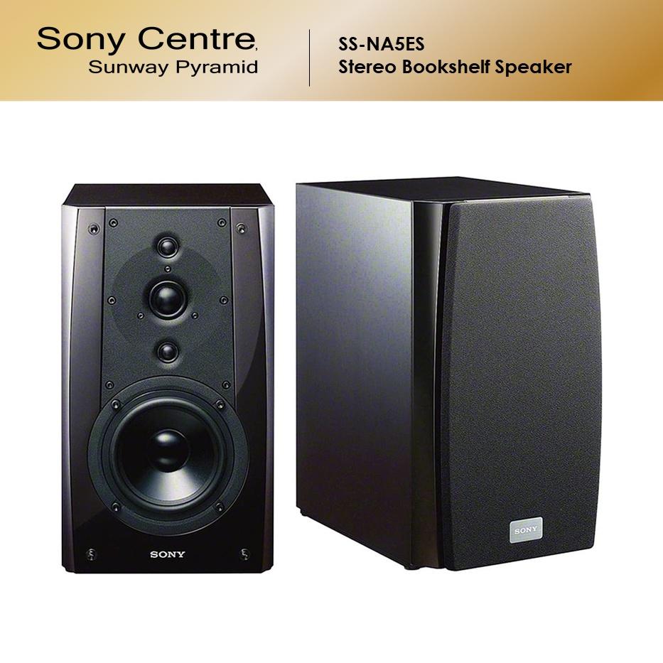 Sony SS-NA5ES Stereo Bookshelf Speaker