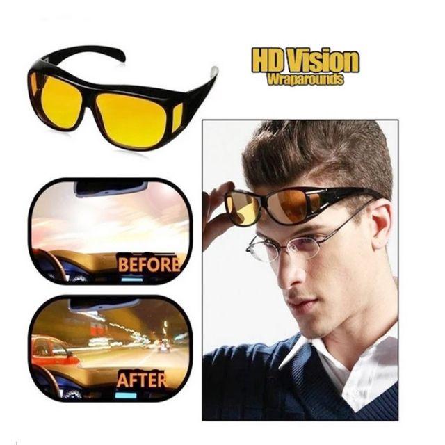 MALAYSIA: SPEK MATA PEMANDU MALAM ELAK SILAU LAMPU/ Night Vision Driving HD Safety Glasses UV Sunglasses
