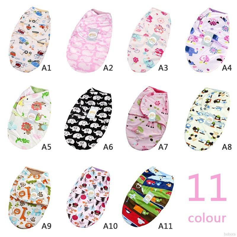 2pcs//set 0-3m Baby Cotton Cap Swaddle Wrap Infant Hat Blanket Sleeping Bags tt