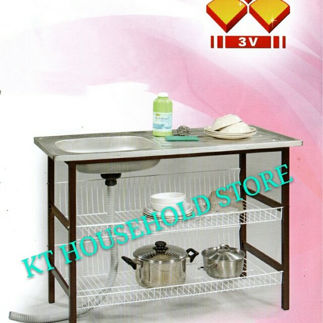Wash Basin With Stand Rak Sinki Multi Rack Sink Dish Sho Malaysia