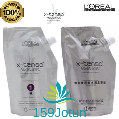 Loreal Professional X-Tenso xtenso Rebonding Cream (R) 400ml with  Neutraliser  1247e10160