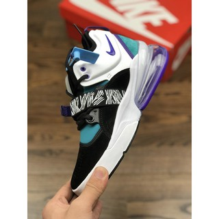 Nike Air Force 270 BlackWhite Hyper Jade Shoes | Shopee