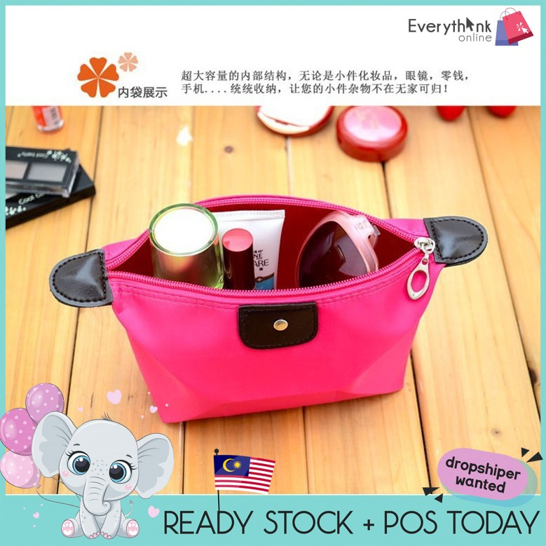 XL SIZE 27CM EVON COSMETIC POUCH MAKEUP BAG STORAGE BIG STORAGE TRAVEL ORGANIZER