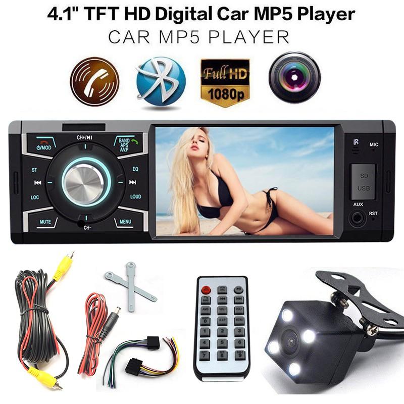 HD Digital Car MP5 Player Radio High Power 45W x 4 Audio Video WIFI USB VGAM