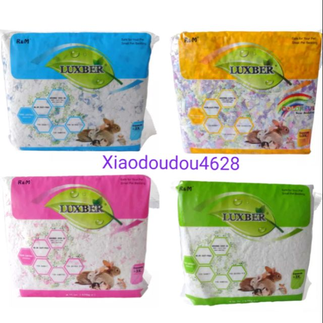 Hamster Bedding R M Hamster Paper Bedding Luxber Small Animal Bedding Shopee Malaysia