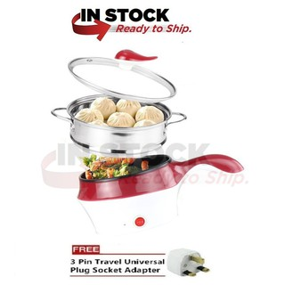 Lopol Electric Nonstick Ceramic Marble Frying Pan Rice