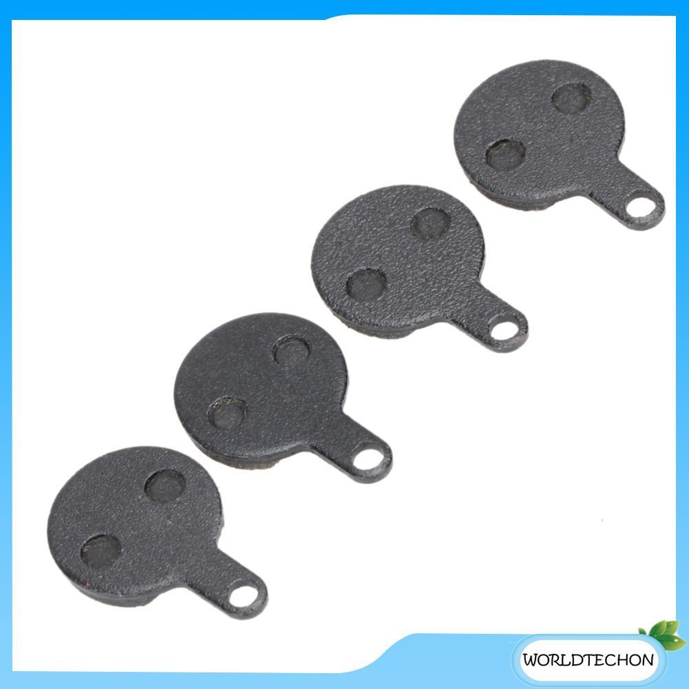 2 Pairs Metal Bicycle Metallic Disc Brake Pads For TEKTRO LYRA