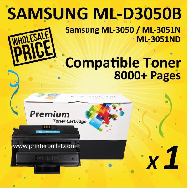 Samsung ML-D3050B / MLD3050B / ML3050 High Yield Compatible Toner Cartridge
