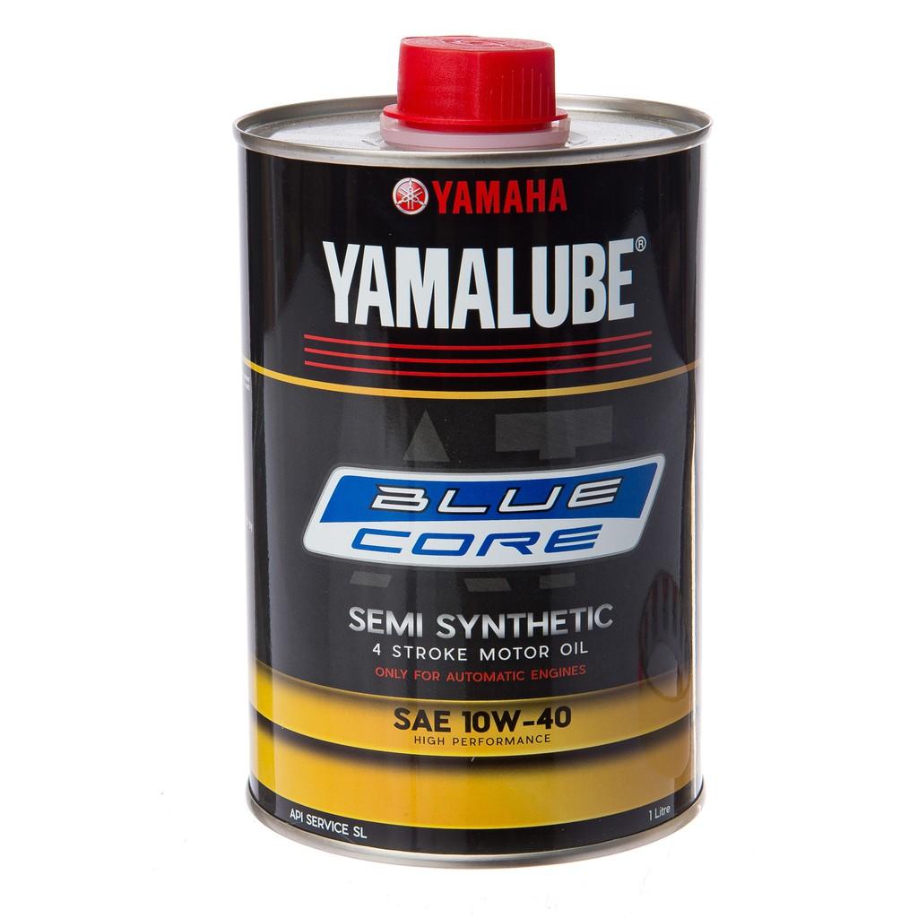 Yamaha Yamalube AT 10W-40 Bluecore Semi Synthetic Motorcycle Oil (1.0L)