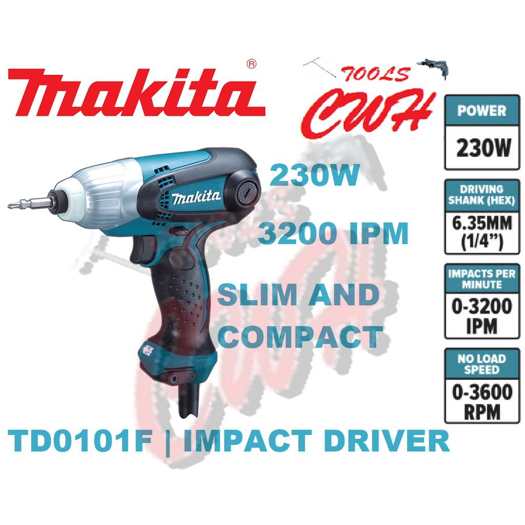 TD0101F 100Nm Makita 230w Impact Driver NUT DRIVER- - - - - -  - -DEWALT MILWAUKEE HIKOKI