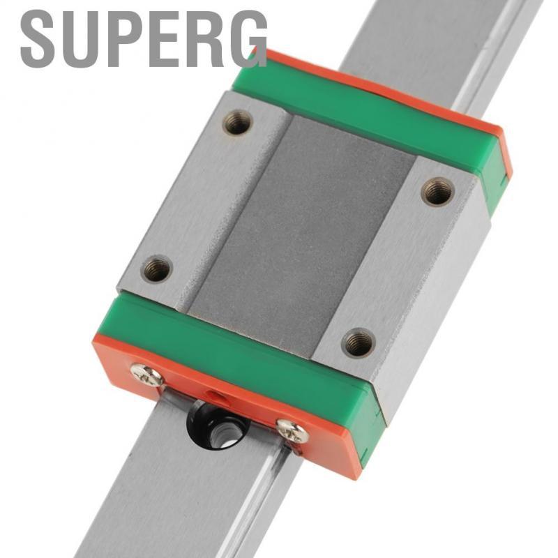 LML15B Miniature Linear Rail Guide 400mm Length 15mm Width and Slide Block